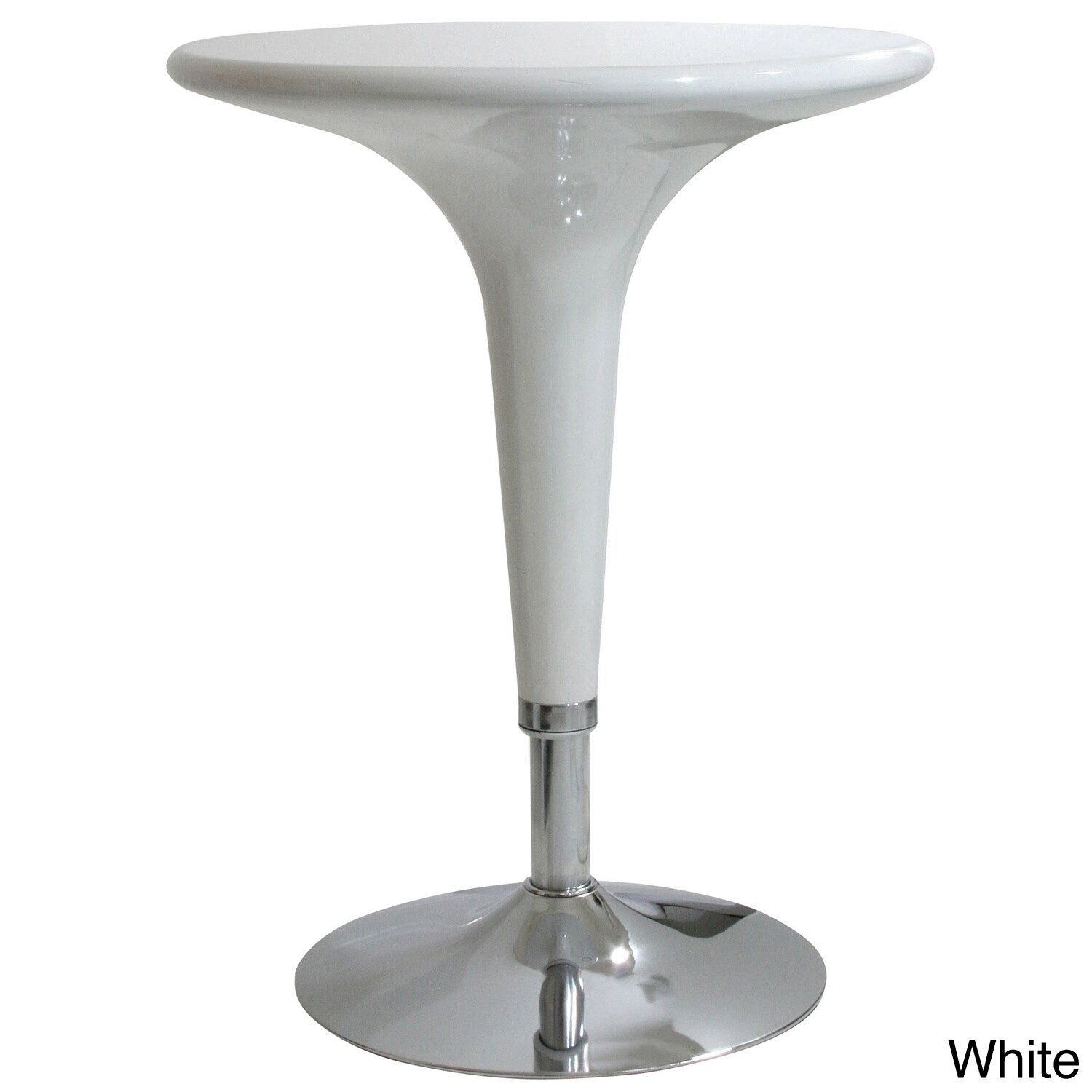 glossy adjustable height abs plastic bar table on popscreen