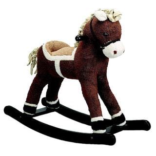 Dark Brown Rocking Horse