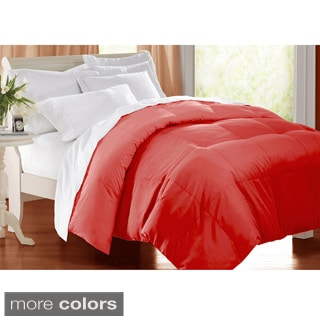 All season 233 TC Cotton Solid Color Down Alternative Comforter