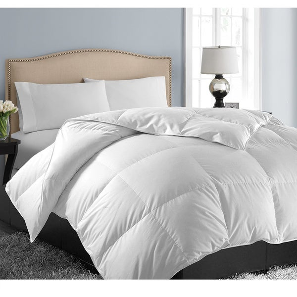 hotel grand oversized luxury 1000 thread count egyptian cotton down alternative comforter. Black Bedroom Furniture Sets. Home Design Ideas