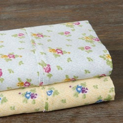 Carolina Rose 350 Thread Count Floral Sheet Set