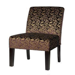 Cortesi Home Castano Accent Chair