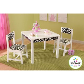 KidKraft Fun and Funky Table and Chair Set