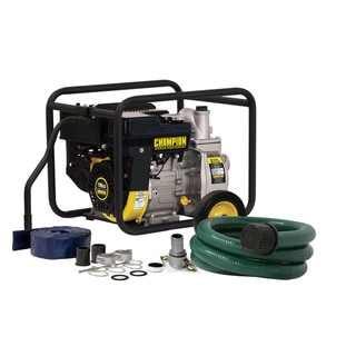Champion 2-inch Trash/ Water Transfer Pump Hose Kit