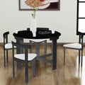 Nordic Midnight Infinity 5-piece Dinette Set