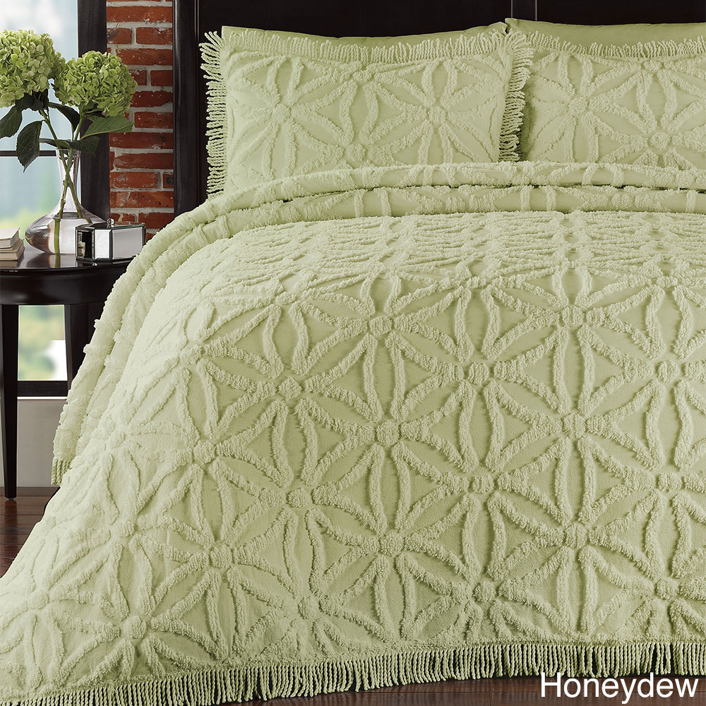 Arianna Chenille 3-piece Bedspread Set at Sears.com