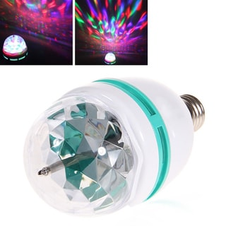 E27 3W AC 85-265V Colorful LED Light Bulb
