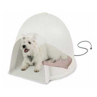 K&H Lectro-Soft Igloo Style Heated Bed and Cover