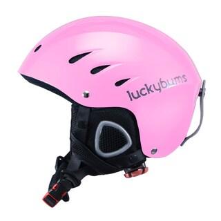 Lucky Bums Snow Sport Helmet, Metallic Pink