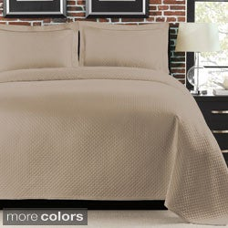 Diamante 3-piece Coverlet Set