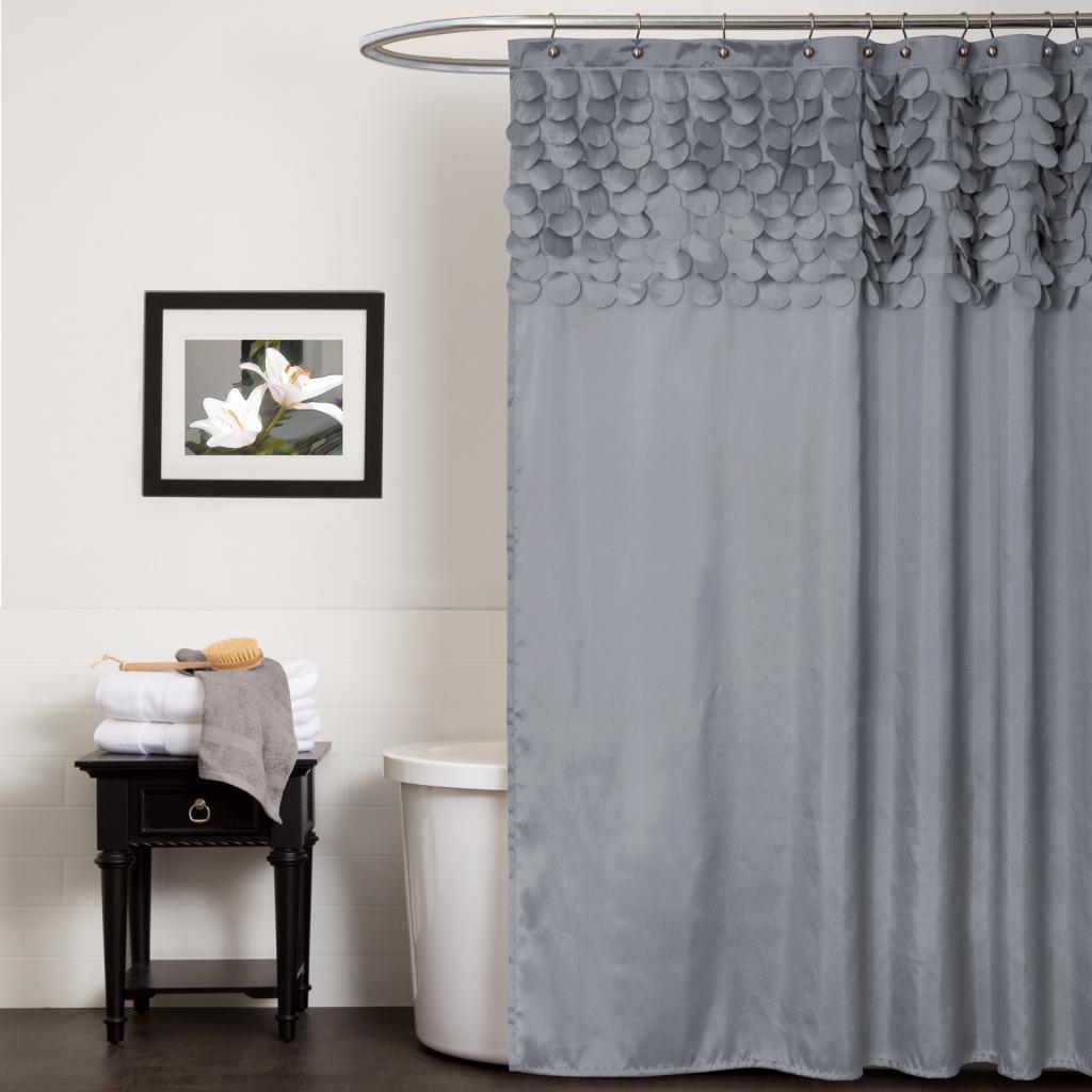 Short Shower Curtain Rod Hot Pink Shower Curtain