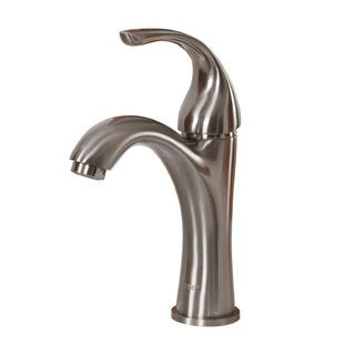 ELITE 8821BN Brushed Nickel Finish Single Lever Basin Faucet