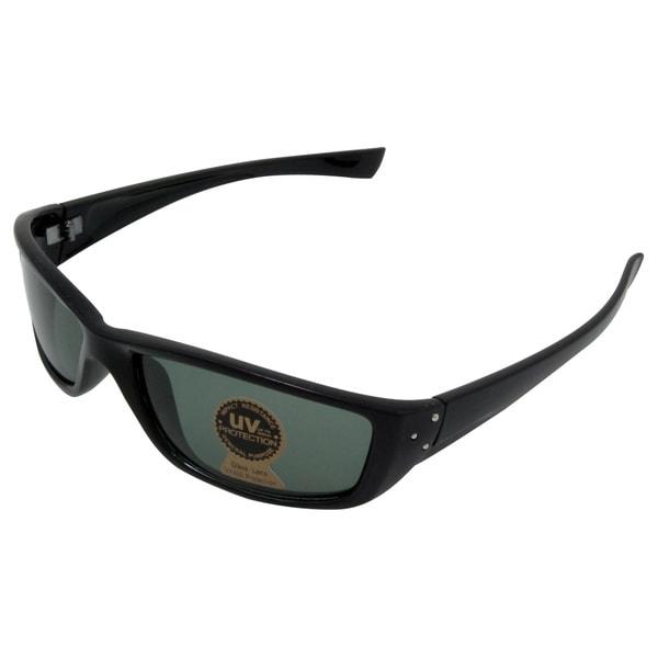 Men's 'Orion's Sword' Black Sport Sunglasses