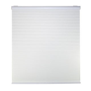 Cordless Light Filtering White Cellular Shades