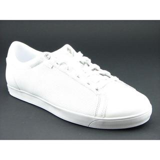 K Swiss Men's 'All Court Tennis' White Leather Casual Shoes