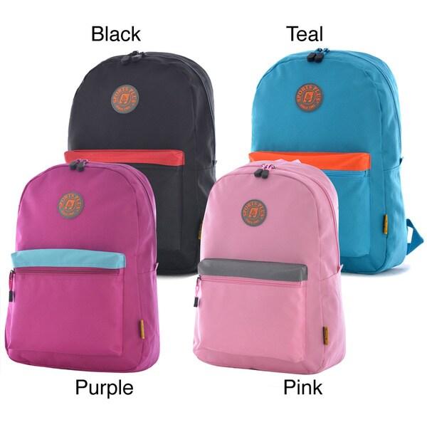 Olympia  Princeton  17 inch Sports Plus Premium Backpack Olympia Fabric  Backpacks 97ae3b6bee448