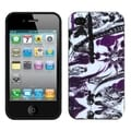 BasAcc Amethyst/ Birds Candy Skin Case for Apple iPhone 4S/ 4