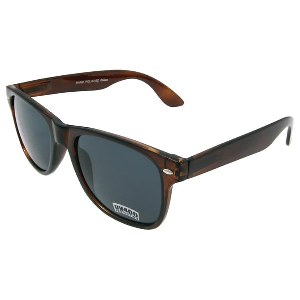 'Vivas' Tortoise Brown Retro Sunglasses