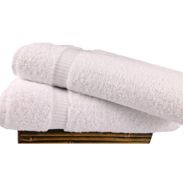 Salbakos Cambridge Turkish Cotton Bath Sheet (Set of 2)