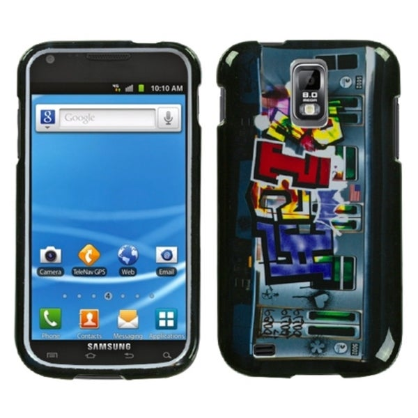 INSTEN Money Talks Hard Plastic Phone Case Cover for Samsung Galaxy S II T989 Hercules