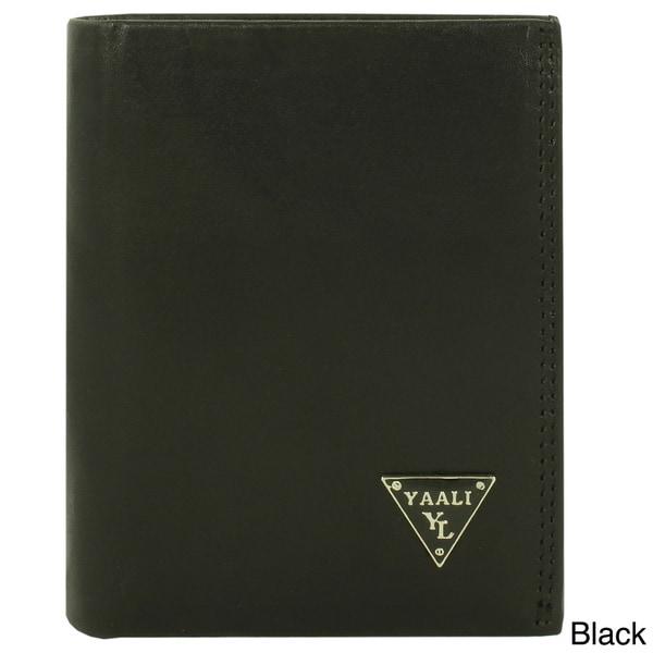 YAALI Fashion Men Leather Wallet Bi-fold Design