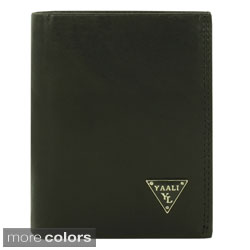 YAALI Fashion Men Leather Wallet Bi-fold Design