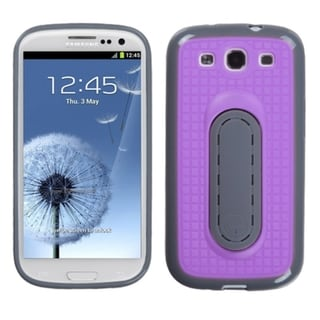 BasAcc Purple Snap Tail Stand Case for Samsung Galaxy S3/ III i9300