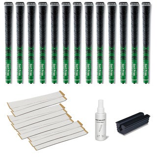Golf Pride New Decade MCC Green - 13pc Grip Kit (with tape, solvent, vise clamp)