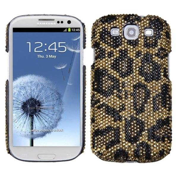 INSTEN Digital Jaguar/ Diamond Phone Case Cover for Samsung Galaxy S3/ III i9300