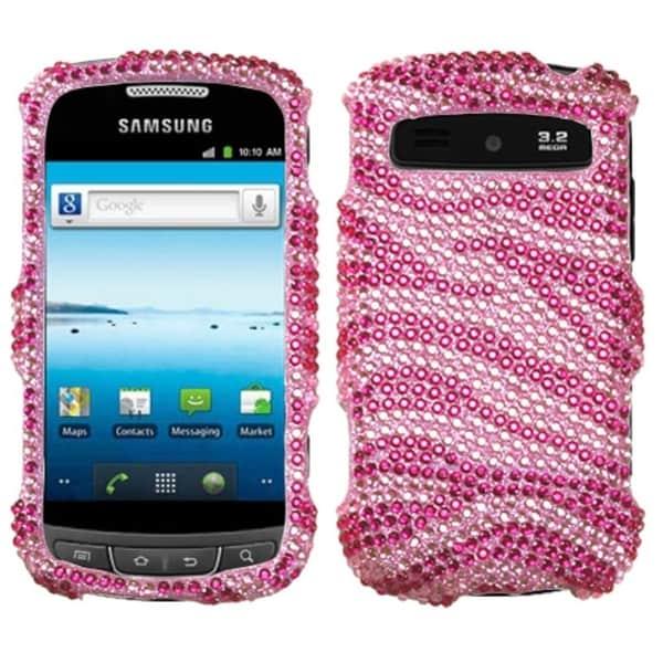 INSTEN Zebra Skin Phone Case Cover for Samsung R720 Admire Vitality
