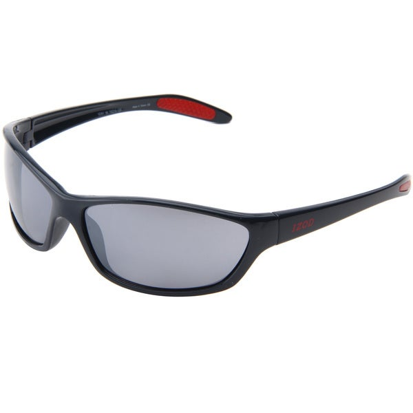 Izod Perform X Unisex IZ 351 98 Grey Plastic Sport Sunglasses