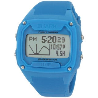 Freestyle Men's Shark Blue Silicone Quartz Digital Watch