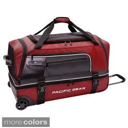 Pacific Gear Drop Zone 30-inch Drop-bottom Rolling Upright Duffel Bag