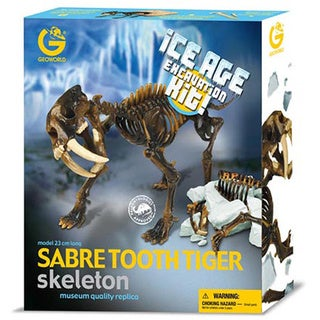 Ice Age Excavation Sabre Tooth Kit