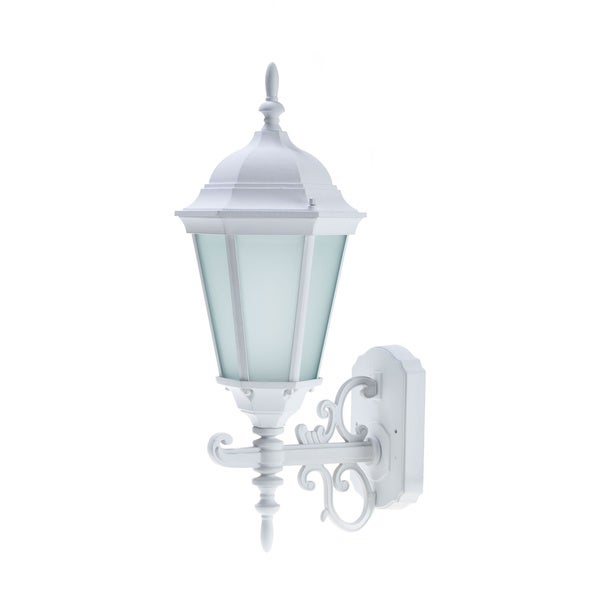 White Energy Saving Outdoor Wall Lantern