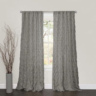 Lush Decor Lake Como Grey 84-inch Curtain Panel
