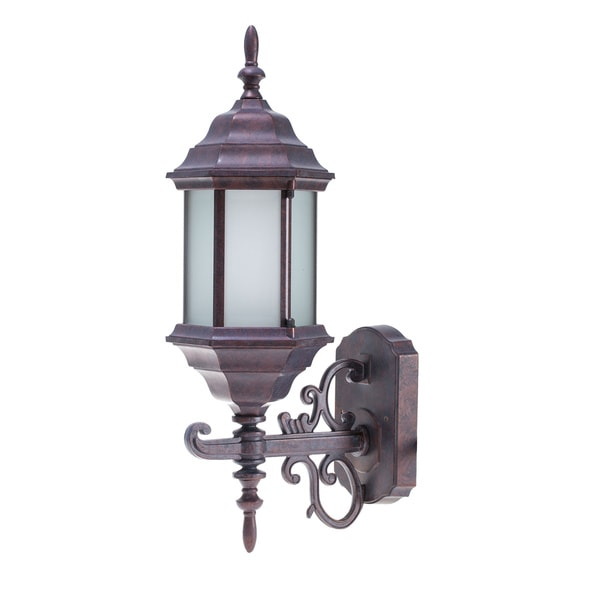 Weathered Brick Energy Saving Outdoor Wall Lantern