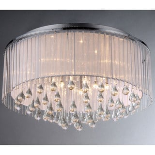 Demeter Chrome 8-light Chandelier