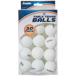 Franklin Sports 30 Ball Table Tennis Pack