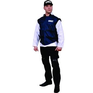 Men's SWAT Team Officer Costume (One size)