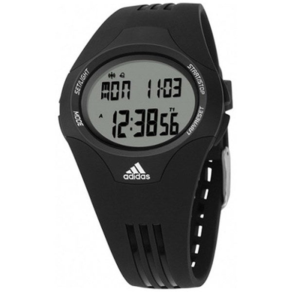 Adidas Men's Response ADP6007 Black Polyurethane Quartz Watch with Digital Dial