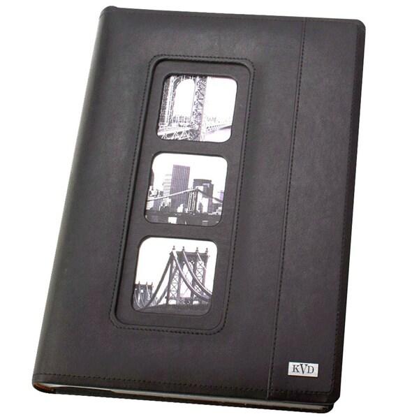 Kleer Vu Avande Leatherette Bookbound 300-photos Memo Page 4 x 6 Album