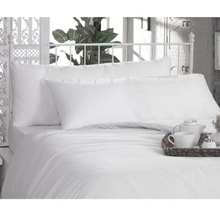 100-percent Egyptian Cotton Body Pillow Pillowcases (Set of 2)