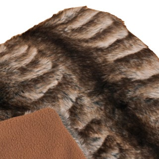 Faux Fur Animal 50 x 60 Throw