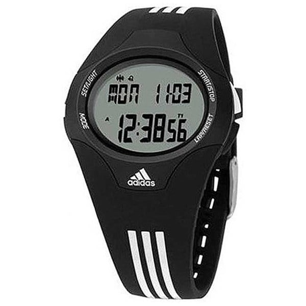Adidas Men's Response ADP6005 Black Polyurethane Quartz Watch with Digital Dial
