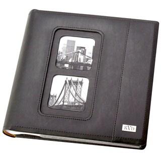 Kleer Vu Avande Leatherette Bookbound Slip 200-photo Memo Page 4 x 6 Album