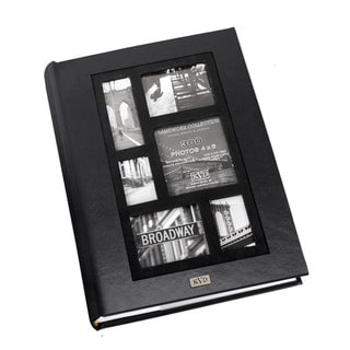 Kleer Vu Frame Collage Leatherette Bookbound 300-photo Memo Page 4 x 6 Album