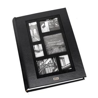 Kleer Vu Frame Collage Leatherette Bookbound 300-photo Memo Page 4 x 6 Album