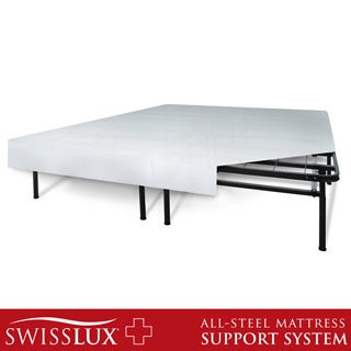 Swiss Lux 'I' Flex Cal King-size Foundation and Frame-in-One Mattress Support System