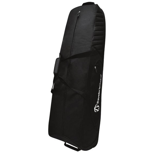 Traveler's Choice - Rolling Golf Bag Cover - Black